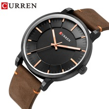 CURREN 2019 Top Fashion Quartz Men Watches Casual Business Leather Strap Waterproof Wristwatch Male Clock Classic Men's Watch fashion leather strap beautiful watches for gifts elegant classic casual analog business quartz wristwatch