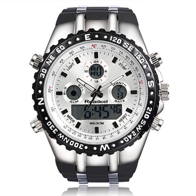 Readeel Sport Quartz Wrist Watch for Stylist Men