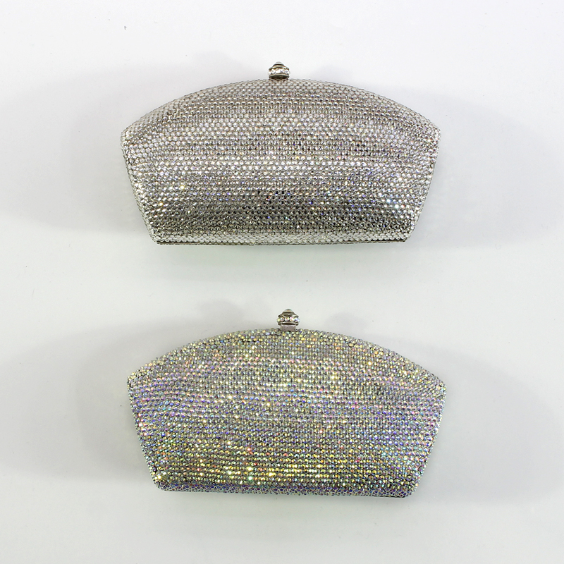 Women Party Handmade White Crystal Clutch Bag Bridal Wedding Beaded Hand bags Metal Clutches Crystal Evening Bag(1 (13)) spot welding sheet metal tools spotter tools with slide hammer 393pieces ss 393