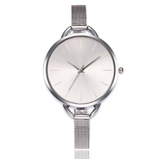 vansvar Luxury Bracelet Watch Women Fashion Mesh Band Clock Girl Dress Quartz Wr