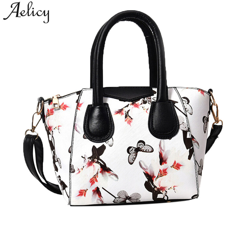 Aelicy drop ship  new 2019 hot SALE Women Small Satchel Bag Flower Butterfly Printed Shoulder Bag Crossbody Bag bolsa femininaAelicy drop ship  new 2019 hot SALE Women Small Satchel Bag Flower Butterfly Printed Shoulder Bag Crossbody Bag bolsa feminina