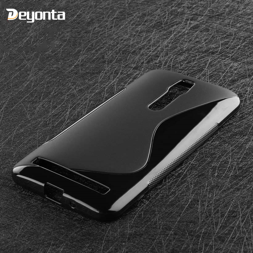 Pour Asus Zenfone 2 Deluxe ZE550ML ZE551ML étui noir coque souple Zenfone 3 Laser 3S Go Max AR Live ZC553KL ZE553KL ZB452KG ZB500KL