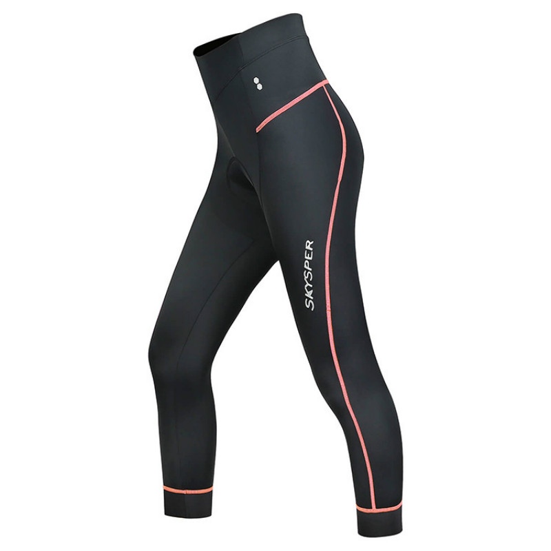 Women Cycling Capris 3/4 Biking Tights Shorts 3D Gel Padded Breathable Compression Cycling Pants for Bike Bicycle Outdoor Sport цена