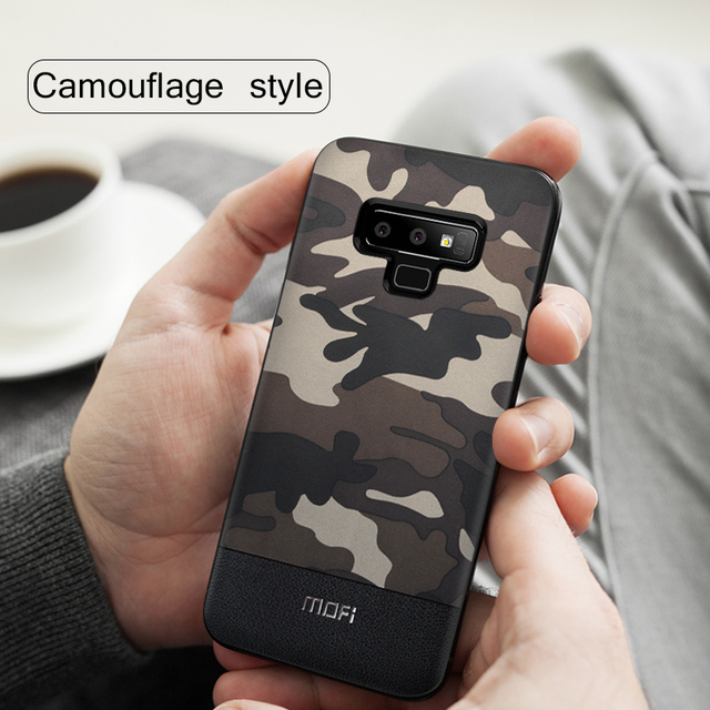MOFi Galaxy Note 9 Camouflage Pattern Shockproof Back Case Cover
