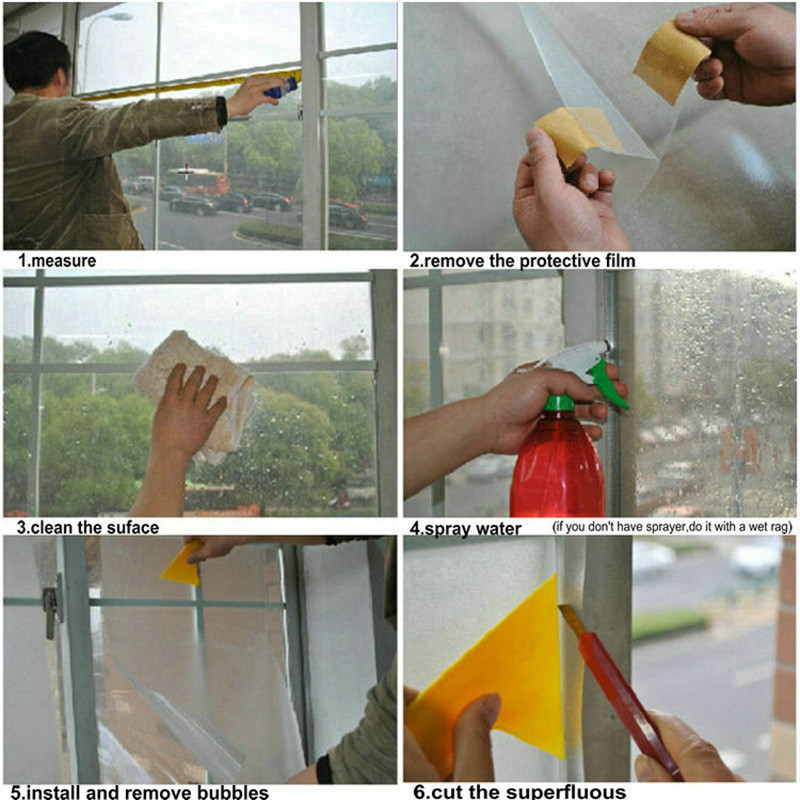 Aliexpresscom Buy 300Mil window film static cling Non adhesive