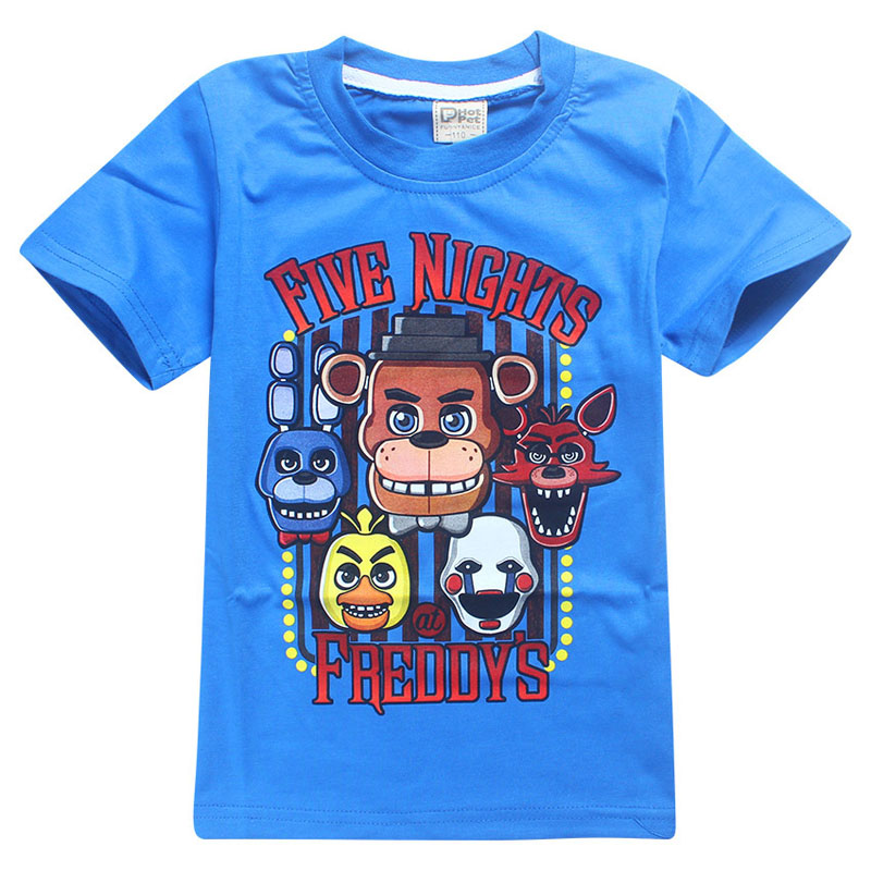 Pure Cotton Summer T Shirts Battle Royale Legend Gaming Pattern Tops Baby Girls Boys T-shirt Kids Clothes 12 Years