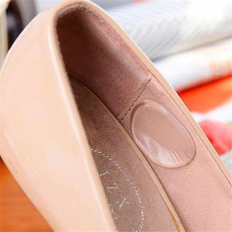 1 חבילה אישה נעלי מדבקה שקוף סיליקון גבוהה עקבים סנדלי מגן למנוע לשפשף כאב העקב אוחז בלתי נראה מדרסים חדש