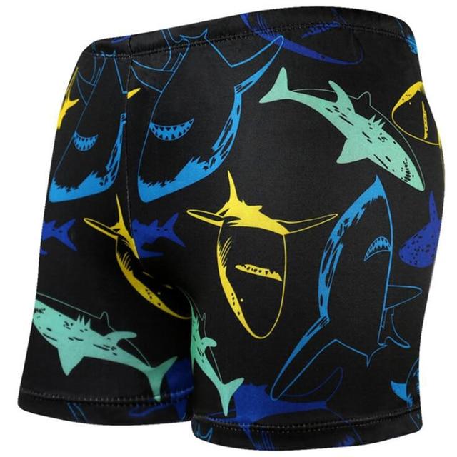 3151ee64dd Cool Shark Prints Men Male Swim Pool Swimming Suit Swimwear Bathing Shower Boxer  Shorts Beach Trunks Briefs Swimsuit Beachwear