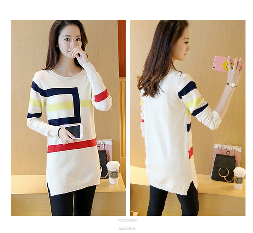 18 DRL sweater women Basic woman sweater pullovers long sleeve Jumper Long Sleeve Sweaters Autumn Winter pull femme hiver 8
