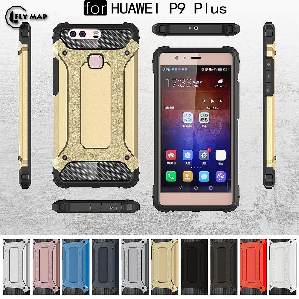 PC Armor TPU Case for Huawei P9 Plus P9Plus VIE-L09 Silicon Anti-Shock Hard Protection phone Cover for Huawei P 9 Plus VIE-L29