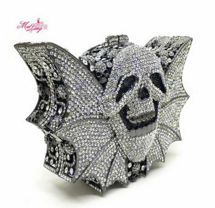 Crystal Women Clutches Handbag (9)