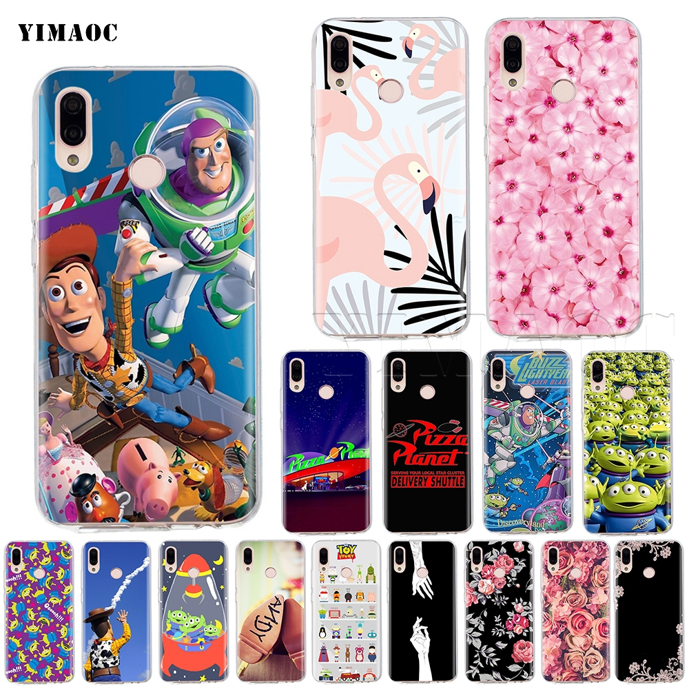 Yimaoc Toy Story Pizza Planet Silicone Case For Huawei Mate 10 P8 P9 P10 P20 P Smart Lite Pro Mini 2017 Phone Bags & Cases