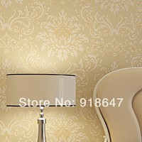 Wholesale High Quality Luxury Classic Renovator Modern Damask Wallpaper Wall Paper Roll For Living Bedding Room