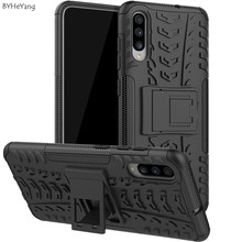 sFor Samsung Galaxy A70 Case A 70 cover Hard Plastic Soft Silicone Hybrid Armor Stand PC+TPU Cover Capa For a70 shell