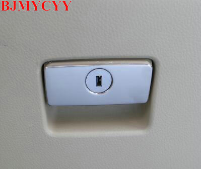 BJMYCYY Car glove box handle decorates the sequins for toyota highlander 2014 2015 car styling