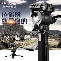 WEIFENG WF 3958M Camera DSLR Monopod Tripod Video DV Fluid Head Holder Travel Camcorder
