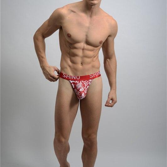 New Men's camouflage Sexy Cotton Jock straps Cotton tanga hombre G-string Thongs gay Underwear man Jockstrap