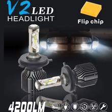 New V2 Car LED Headlight Bulbs  online