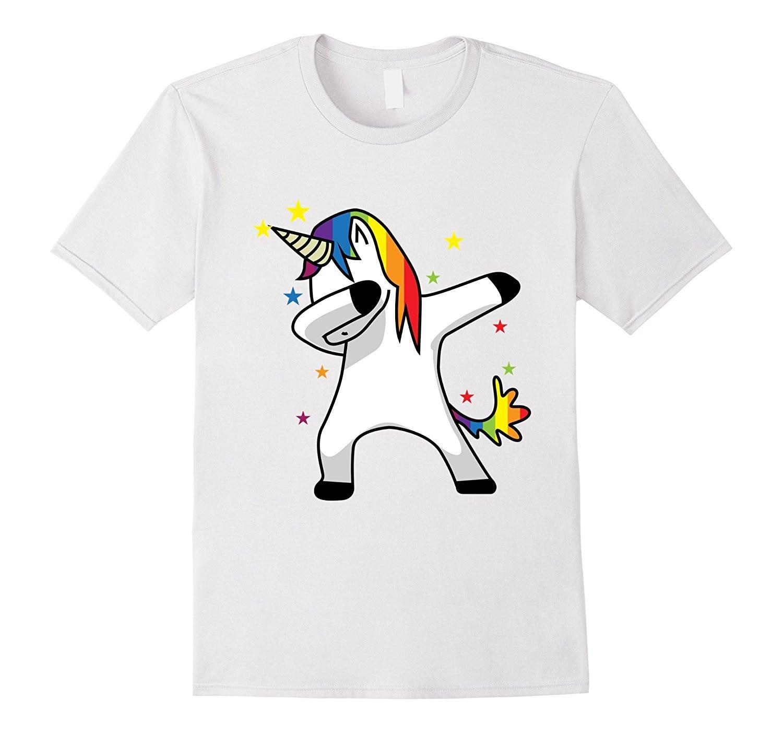 cool funny t shirt high quality tees o neck dabbing unicorn t shirt dab hip hop funny magic. Black Bedroom Furniture Sets. Home Design Ideas