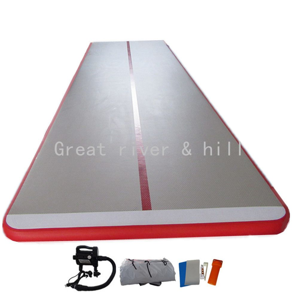 Gymnastic Inflatable Air Tumbling Mat/Tracks/Home Set/Training Board/Inclined Mat with Free Pump 5m x 2m