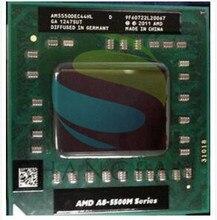 Amd Laptop CPU A8 5500M series A8-5550M A8 5550M AM5550DEC44HL Socket FS1 CPU 4M Cache/2.1GHz/Quad-Core Notebook processor