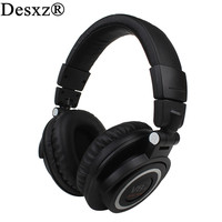 Desxz Wireless Bluetooth Headphones Foldable Durable Noise Cancelling Headsets Earphones With Mic Handsfree For IPhone Xiaomi