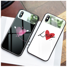 ciciber Animal Makeup Mirror Phone Case for iPhone 7 8 6 6S Plus Shell X XR XS Max Tempered Glass Fundas Coque