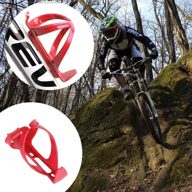 Water Bottle Holder Cage Rack Mountain Bike Bicycle Cycling Riding Racing Stand