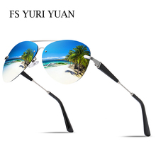 FS YURI YUAN Fishing Glasses Polarized For Males Traditional Pilot Sport Sun shades Ladies HD Drive Glasses Mountain climbing Biking Tenting 743