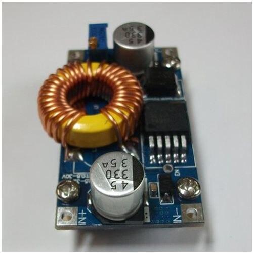DC buck power supply module buck mode aircraft model car power input 5-42V output adjustable 5 12 / 24V zndiy bry zb 8 dc dc 8a adjustable buck boost cc cv power supply module blue silver