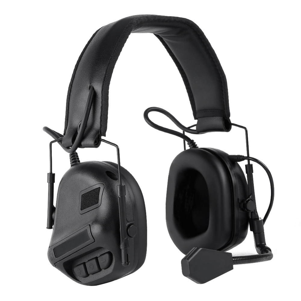 Tactical Headset Hunting Airsoft Headphone Military Shooting Headset Ear Protection Earphones 3 Colors