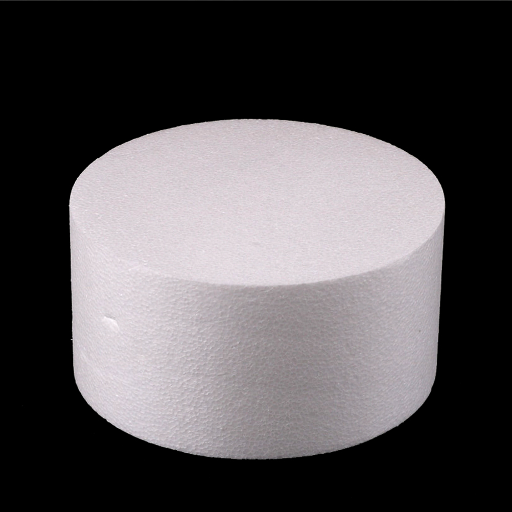 4/6/8/10 Inch Round Styrofoam Foam Cake Flower Decor Patrice Model Dummy Sugarcraft