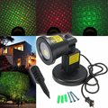 RGB IP67 à prova d' água À Prova D' Água Paisagem Jardim Projector LED Movendo Laser Stage Lâmpada Luz de Natal EUA Plug AC100-240V