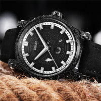 Thể thao đồng hồ Mens thương hiệu Hàng Đầu luxury Watch men Chất Lượng Cao Da Không Thấm Nước Quartz Đồng Hồ Đeo Tay Dành Cho Nam Giới Relojes Hombre