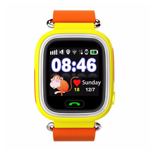 Top Deals Smart Watch Children GPS Q90 Touch Screen WIFI Positioning SOS Call Location Finder Device Tracker Kid Safe Anti Los