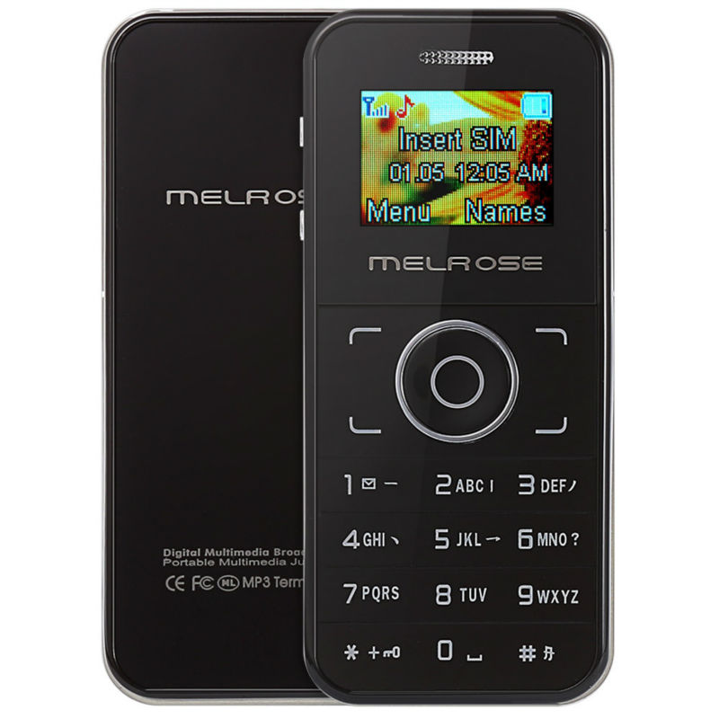 MELROSE M1 1 0 inch OLED Screen Single Core DetachableCard Phone MP3 Playback Bluetooth FM Sound