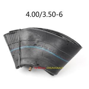 Внутренняя шина с цилиндрическим клапанным штоком, размер 4,10/3,50-6 4,00/3,50-6, для электрического велосипеда, скутера, мини-мотоцикла, косилки