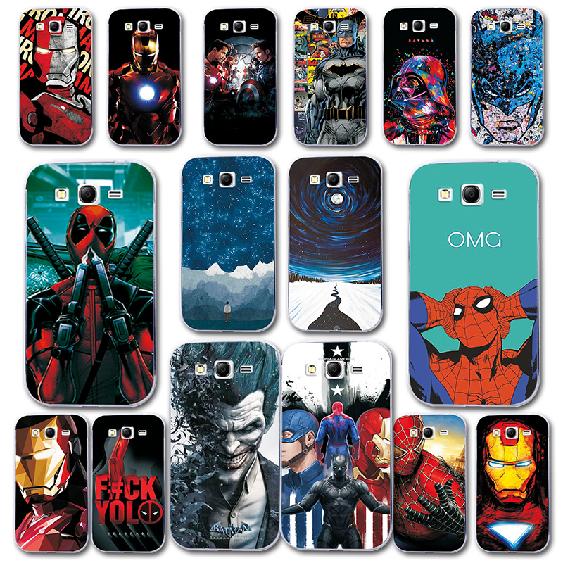 Phone Bags & Cases Phone Case For Samsung Grand Neo Plus I9060 5.0 Cover Silicone Novelty For Galaxy Grand Neo Plus I9060 Spiderman Capa Fundas Fitted Cases
