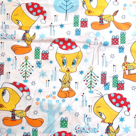Comic Frohe Weihnachten.Us 10 0 Cd005 1 Yard Sdlp Baumwollgewebe Warner Bros Comic Figuren Frohe Weihnachten Tweety Vogel Weiß W140 In Cd005 1 Yard Sdlp