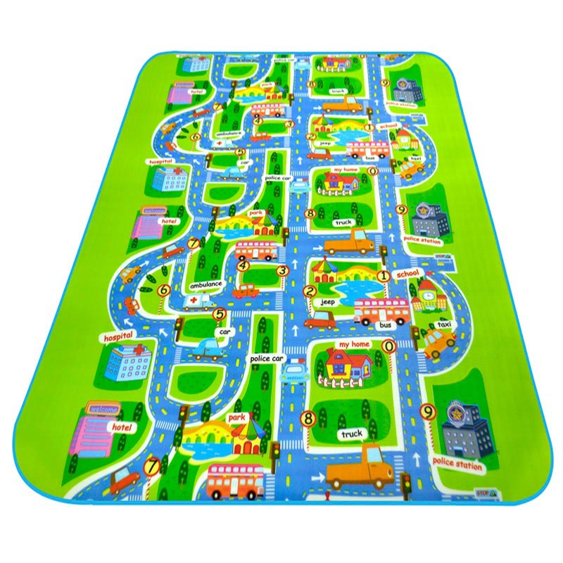 Infant Children Eva Foam Puzzle Play Mat Baby Alfombra