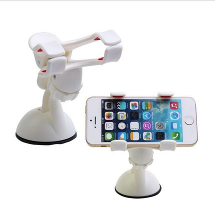 360 degrees car phone holder for huawei P8 xiaomi cell phone car holder stand for iphone