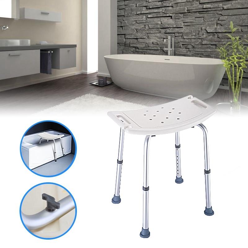 shower stool adjustable bath tub seat for bathroom safety u0026 shaving heavy duty u0026 - Shower Stool