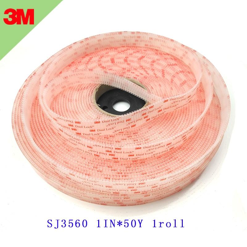 タイプ250 3メートルデュアルロックファスナー再閉鎖可能なファスナーsj3560クリアキノコファスナー粘着テープ3メートルテープ1インチ* 50ヤード1ロールスロイス  グループ上の ホーム&ガーデン からの ホームオフィスストレージ の中 1