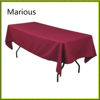 New Universal Rectangle Colorful Table Cloth For Banquet From Nantong Wedding Free Shipping