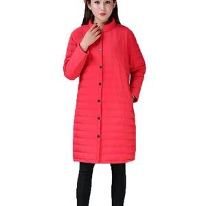 a003d475eb32 BONU Plus Size Parkas women s winter jacket warm long coat