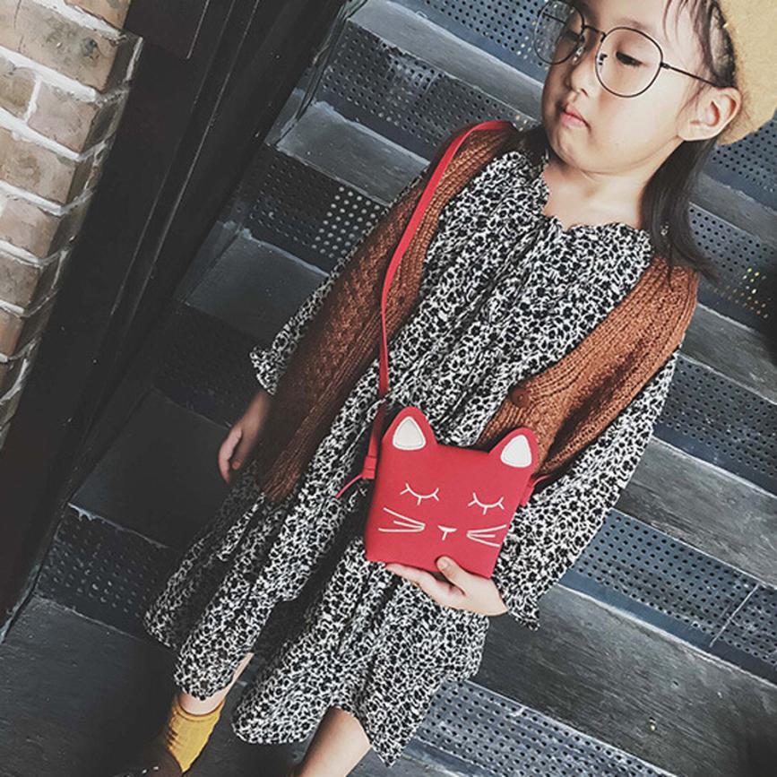 Molave Shoulder Bag new high quality Leather Girl Fashion Cartoon Handbags Kids Mini Crossbody shoulder bag women FEB26