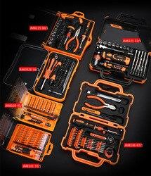 8 conjuntos para escolher a partir de precisão multifuncional chave de fenda conjunto ferramentas do agregado familiar kit ferramentas manuais conjunto caixa para o reparo do telefone móvel