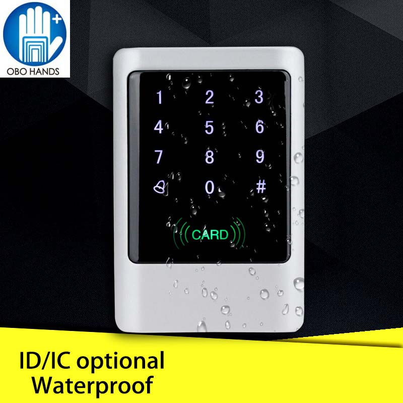 Waterproof Metal RFID 125KHz or 13 56MHz Standalone Access Control System Digital Keypad with Touch Screen