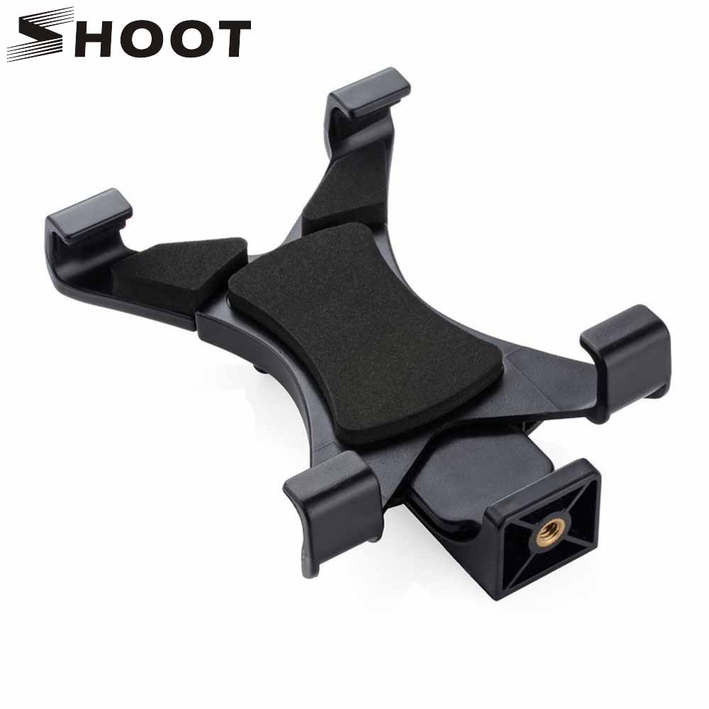 SHOOT Universal Tablet Stand Tripod Mount Holder Bracket Clip For iPad