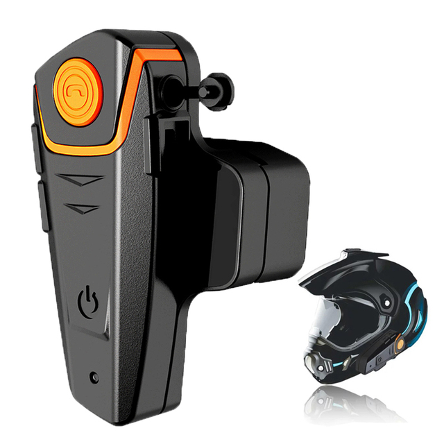 2015 Newest 1000M Motorcycle A2DP BT Bluetooth Intercom Wireless Waterproof Interphone Helmet Headset MP3 FM Radio